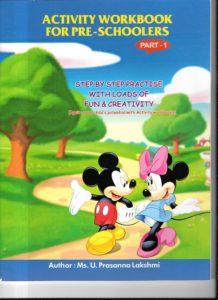 best activity workbook for preschoolers
